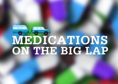 MEDICATIONS ON THE BIG LAP