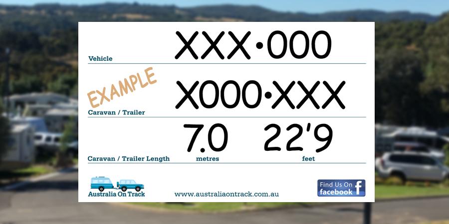 Caravan Rego & Length